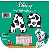 Eureka 101 Dalmatians Spots Deco Letters