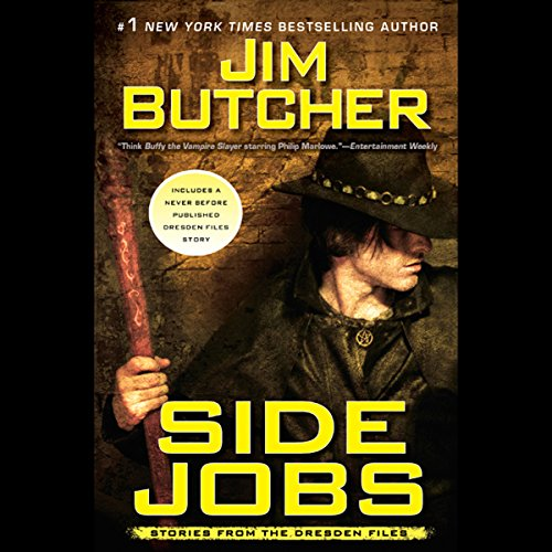 Bargain Audio Book - Side Jobs
