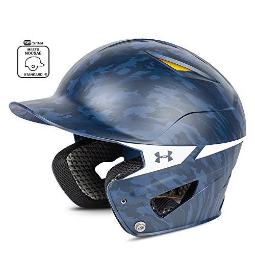 Under Armour Converge Batting Helmet - Digi Camo, Navy Blue ()