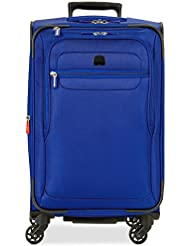 Delsey Luggage Fusion 29 4 Wheel Expandable Spinner, Blue
