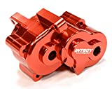 Integy RC Model Hop-ups T3429RED Alloy Gear Box for 1 16 Traxxas E-Revo VXL - Slash VXL - Summit VXL - Rally