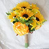 Lily-Garden-Artificial-Calla-Lily-Sunflower-and-Peony-Flower-Wedding-Bouquets