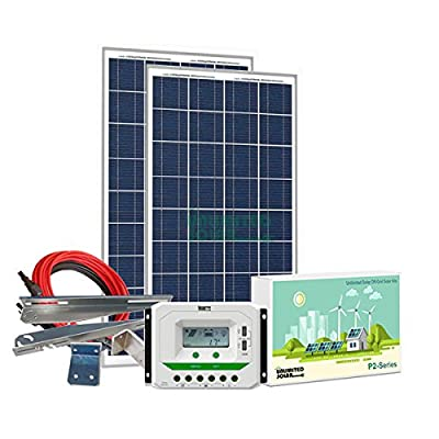 Unlimited Solar P4 Series 320 Watt 12 Volt Off-Grid Solar Panel Kit