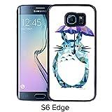 Fashion Designed My Neighbor Totoro 15 Black Samsung Galaxy S6 Edge Phone Case