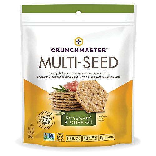 Crunchmaster Multi-Grain Crackers, Applewood Smoked BBQ, 4.5 oz.