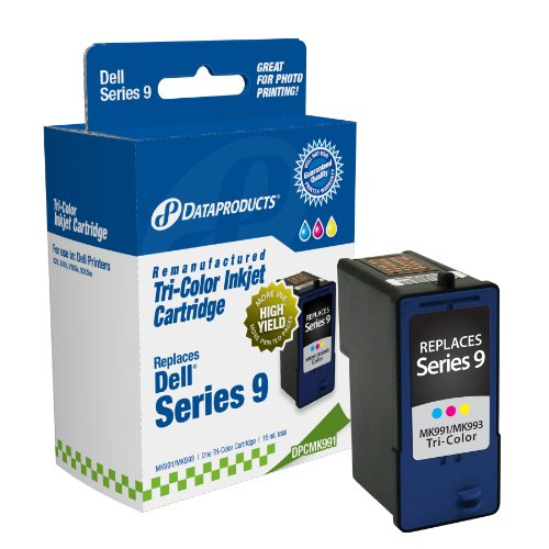(Dataproducts DPCMK991 Remanufactured High Yield Ink Cartridge Replacement for Dell MK991/MK993 (Tri-Color))
