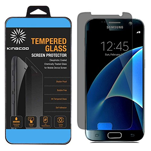 Privacy Anti-Spy Tempered Glass Screen Protector Shield Retail Box Made for Samsung Galaxy S8 MagicGuardz
