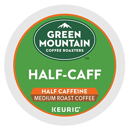 Keurig, Green Mountain Coffee, Half-Caff, 24 K-Cup Packs for Keurig Brewing System