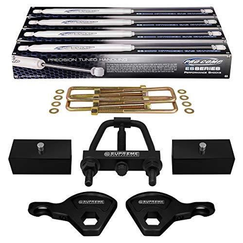 Supreme Suspensions - Full Lift Kit for 1987-2004 Dodge Dakota Adjustable 1