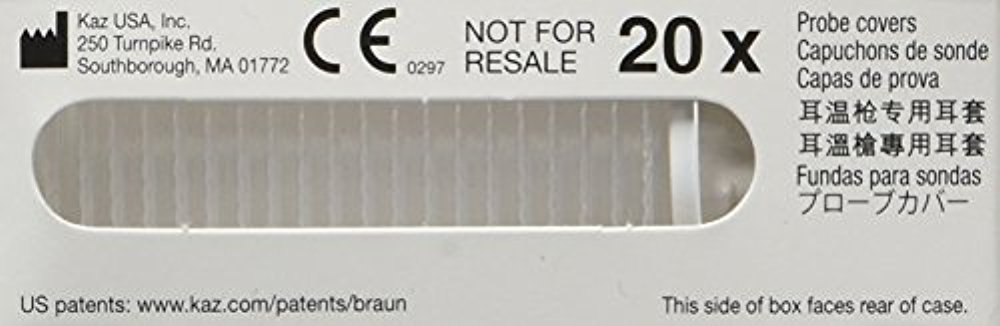Filtros de Lente para Braun Thermoscan Cubiertas Ref PC