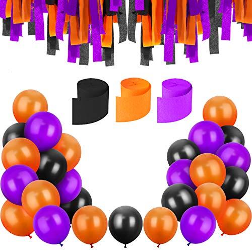 Halloween Balloon Games - Jovitec 100 Pieces 12 Inches Latex