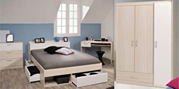 Expendio Jugendzimmer Morris 75 Akazie Bett 140x200