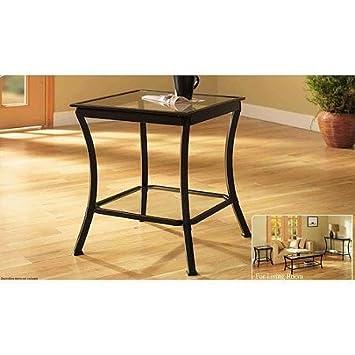 Z-Line Designs Massadona Side End Table, Bronze