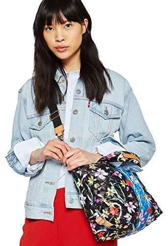 66545314fe MZ Wallace Small Sutton Quilted Oxford Nylon Crossbody Bag Eden Black Multi  New  Handbags  Amazon.com