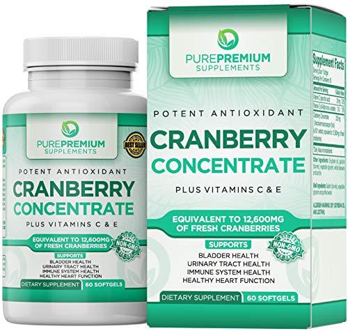 Cranberry Concentrate Supplement PurePremium Vitamins product image