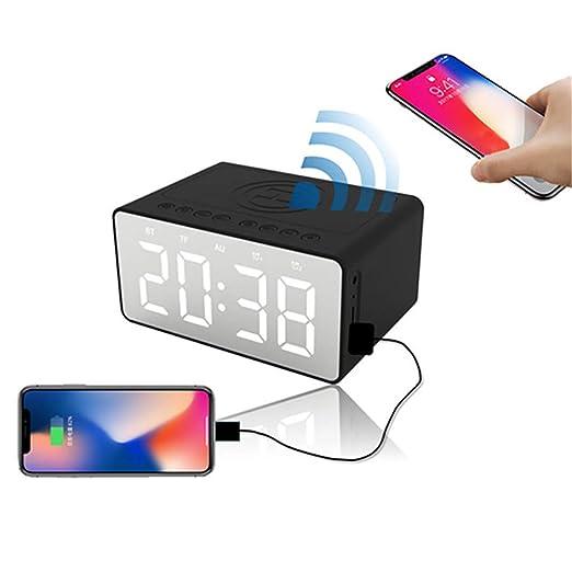 Teléfono celular Cargador inalámbrico Bluetooth Altavoz ...
