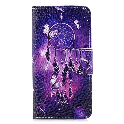 Ecoway Serie pintada Caja del teléfono de moda para Samsung Galaxy J5 2017/J530 (Euro edition) - Tower Campanula