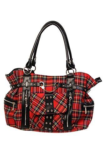 Rouge 755 Banned Bandoulire Tartan Sac Bag wxwpXI6q