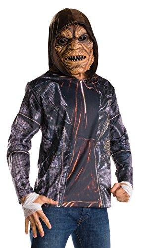 Rubie's Costume Co. Men's Suicide Squad Killer Croc Costume Kit, As Shown, (Joker And Harley Costume 2016)