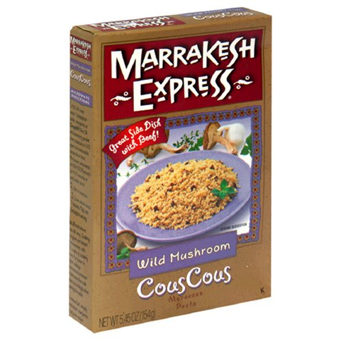 UPC 747674351655, Marrakesh Express Couscous With Mushrooms, 5.45-Ounce Units (Pack of 12)