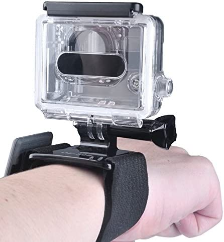Bag Set for GoPro HERO6//5//5 Session //4//3+//3//2 //1 Durable Head Strap CAOMING 5 in 1 Chest Strap Floating Handle Grip Wrist Strap Band Hook and Loop Fastener Mount