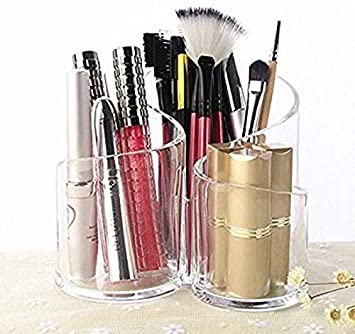 Pencil Pen Makeup Brush Eyebrow Acrylic Display Stand Rack Organizer Holder RS