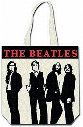 The Beatles Group Shot, Borsa a spalla uomo Multicolore NERO / BIANCO
