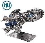 Update Version MU 3D Metal Puzzle Battle Cruiser Battleship BC-S01 DIY 3D Metal Puzzle Kits Laser Cut Models Jigsaw Toys