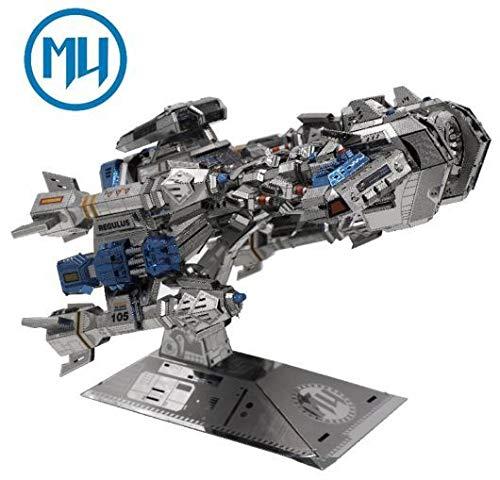 - Update Version MU 3D Metal Puzzle Battle Cruiser Battleship BC-S01 DIY 3D Metal Puzzle Kits Laser Cut Models Jigsaw Toys