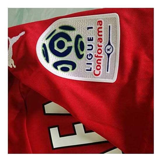 Peak BEA ARFA#18 Stade RENNAIS Home Maillot Soccer Jersey 2019-2020 Full Sponsor