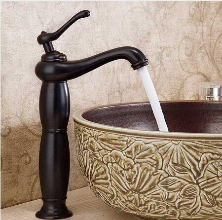 U-Enjoy S Waschbecken Top-Qualität Fahrzeug-Hahn-Toilette Ein Loch Mischer-Hahn-Öl Eingerieben Bronze Wasserhahn [Kostenloser Versand]