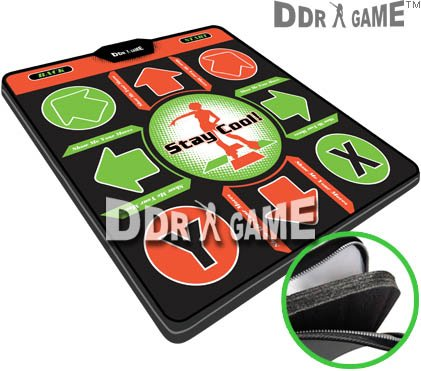 Dance Dance Revolution DDR Super Deluxe Xbox Dance Pad w/1 in foam Version ()