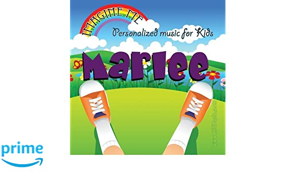 Personalized Kid Music - Imagine Me - Personalized just for Marlee