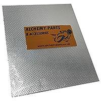 Alchemy Parts Autoadhesivo Escape Motor Protección Térmica Hoja