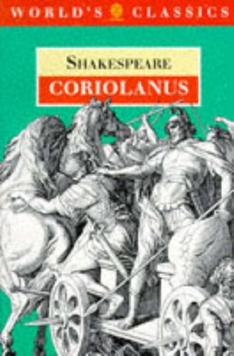 Coriolanus (The World's Classics)