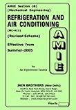 AMIE Refrigeration and Air Conditioning MC-411 Solved Paper