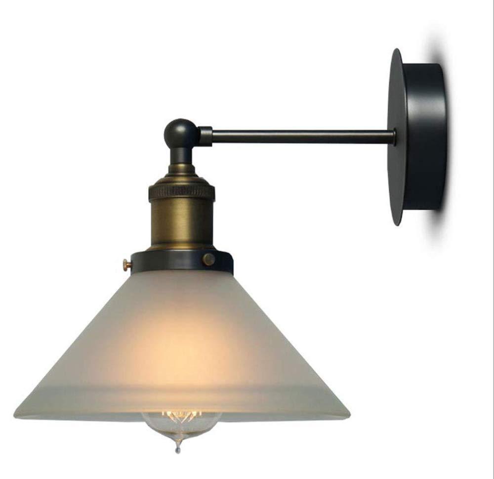 Applique en verre, lampe de salle de bains créative, phare du miroir d'allée, lampe de chevet de la lampe de chevet d'un porche de pays dengjudashijie