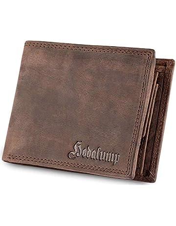 417c6cb1f32f5 Hodalump Echt-Leder Geldbörse Herren in Geschenkbox mit RFID-Schutz (6  Varianten)