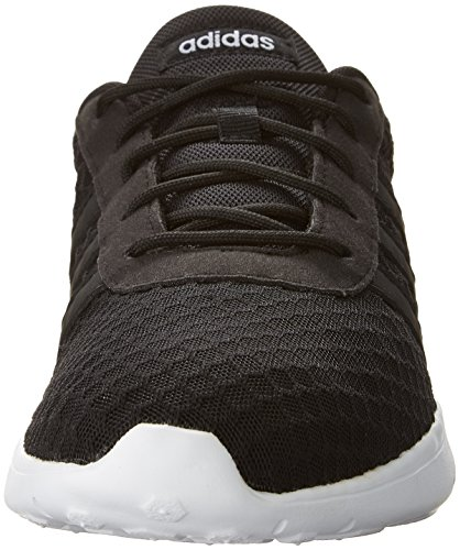 adidas Women's Lite Racer W Sneaker, Black/White, 8.5 M US by adidas (Image #4)