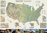 U. S. National Parks Wall Map offers