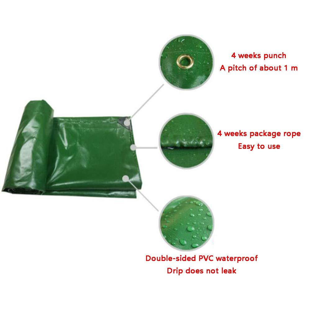 MuMa MuMa MuMa Plane Grün PVC Verdicken Regenfest Sonnencreme Einfach Falten Segeltuch Besonders Angefertigt (Farbe   Grün, größe   10  20M) B07KSZCNRK Zeltplanen Gewinnen Sie hoch geschätzt 4fc7b3