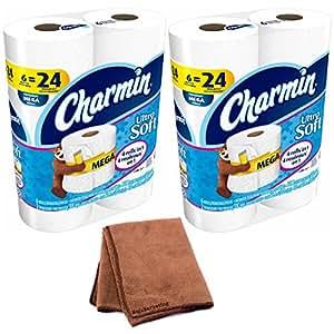 Charmin Ultra suave papel higiénico, papel higiénico, Mega, acabado satinado, 9Count
