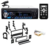 Pioneer CD Receiver w/Bluetooth iPod/iPhone/Android For 93-96 Mitsubishi Mirage