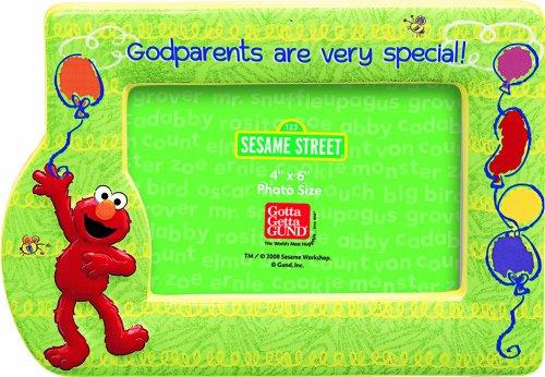 Sesame Street Elmo Godparent Frame Gund 76104