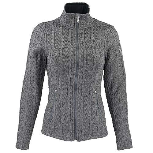 Spyder Ladies' Major Cable Stryke Jacket (Grey, Large)