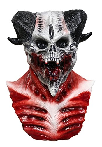 Realistic Demon Costume (Skull Mask for Halloween Party Carnival Mask Party Masquerade party Cosplay Mask)