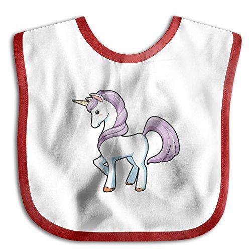 Price comparison product image MGDBB Children Slobber Teething Gifts Cute Unicorn Saliva Towel