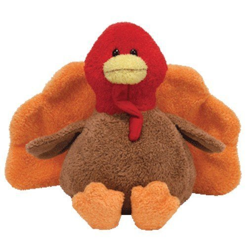 TY Beanie Baby  GOBBLED the Turkey by Ty
