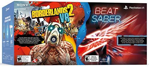 51qsneAP3KL - PlayStation VR - Borderlands 2 and Beat Saber Bundle