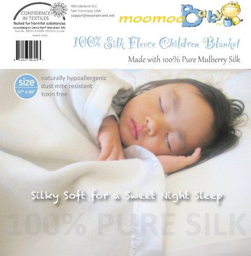 100% Silk Fleece Children's Blanket - Mulberry Silk Fleece